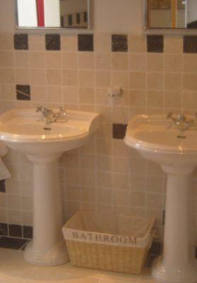 Heritage wastafels en toiletten